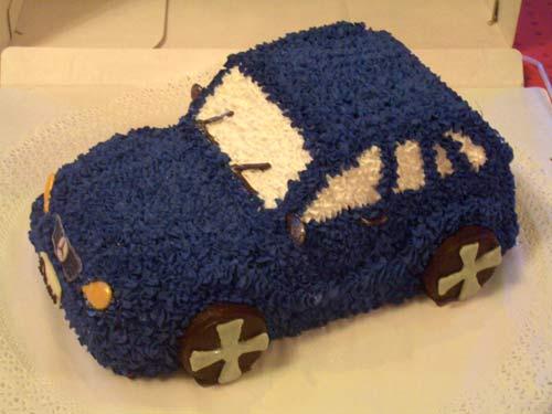 Торт Мерседес - Торты Машины