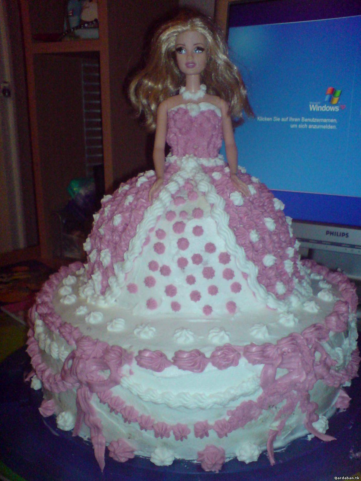 Рецепт торта барби в домашних условиях из крема или из сливок