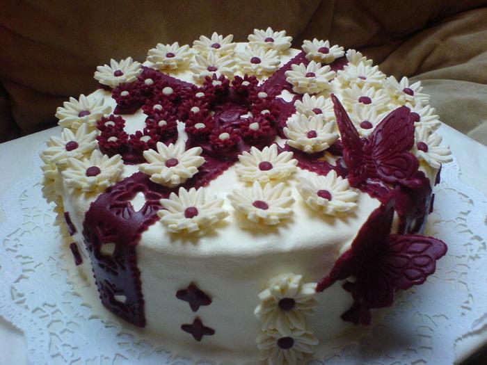 Праздничные торты на день рождения фото своими руками